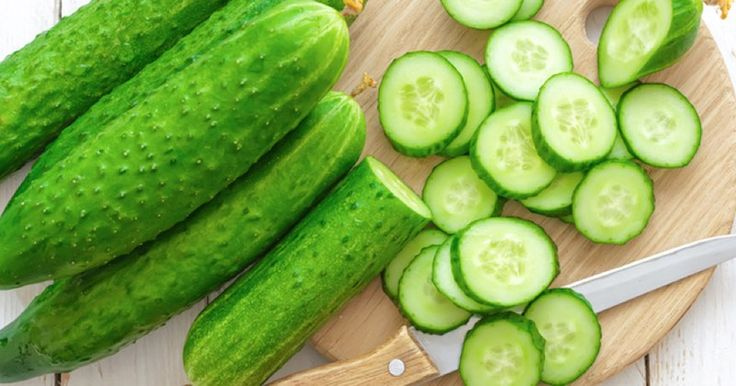 Cucumber Is An Anti-Inflammatory Food That Reduces Gout Attacks