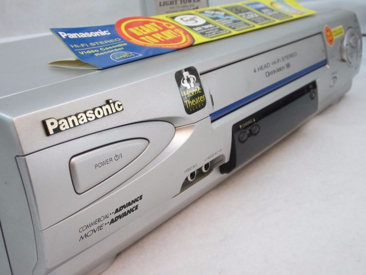 Panasonic VCR 4-Head HiFi Stereo PV-V4612S With Original Remote Tested #Panasonic