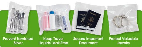 Foodsaver's handheld system is perfect for travel