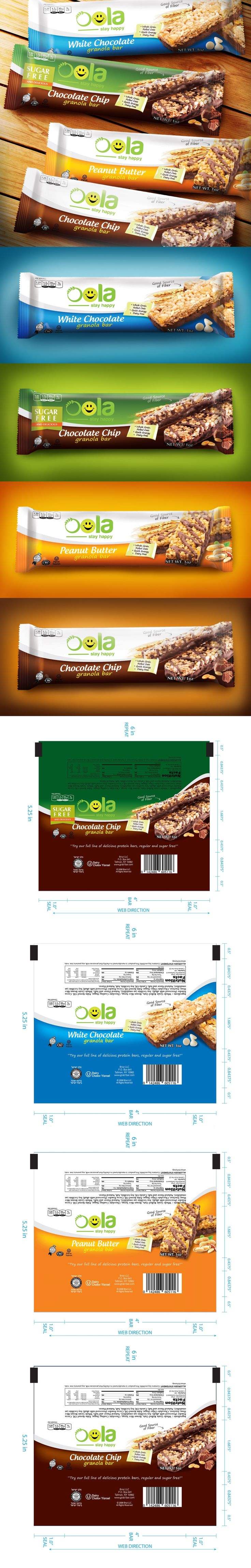 Design #26 by Artphilia | Create protein bar wrappers