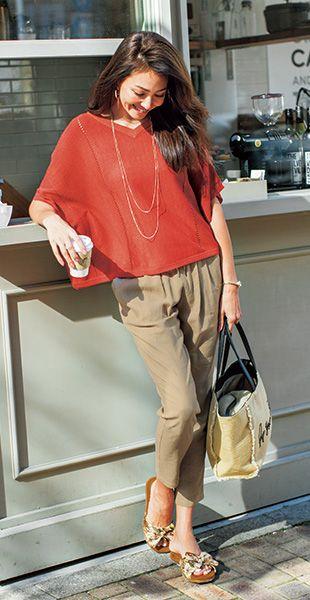 夏も爽やかに着こなせるテーパードパンツ♪40代アラフォー女性におすすめのテーパードパンツ♡