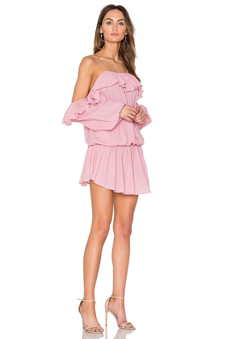 Steele Savannah Mini Dress in Rose Pink | REVOLVE