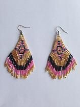 Aztec Earrings @ find found forage.
