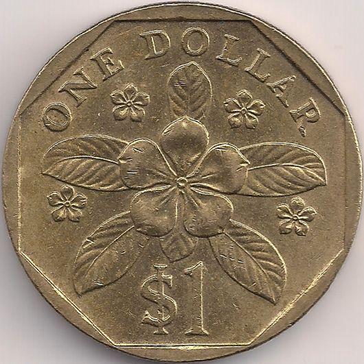 Wertseite: Münze-Asien-Singapur-Dollar-1.00-1992-2012