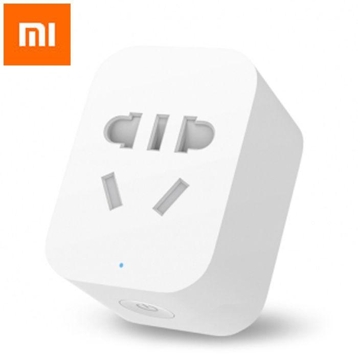 Original Xiaomi Mi Smart WiFi Socket APP Remote Control Timer Power Plug Power Detection - ZigBee Version