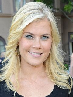 Alison Sweeney hair with side bangs