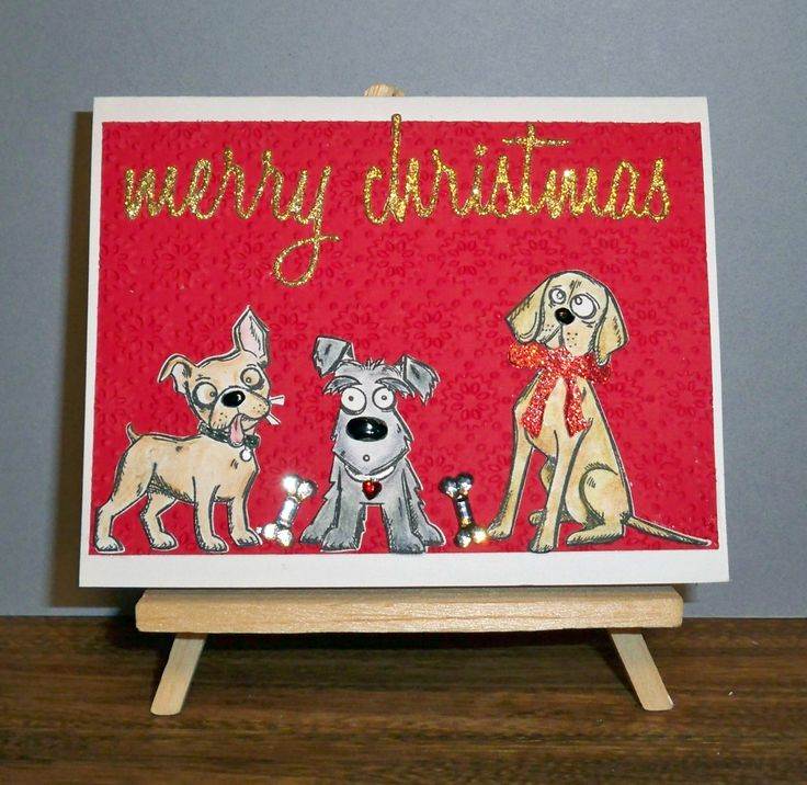 Tim Holtz Mini Crazy Dogs & Holiday Script Sizzix