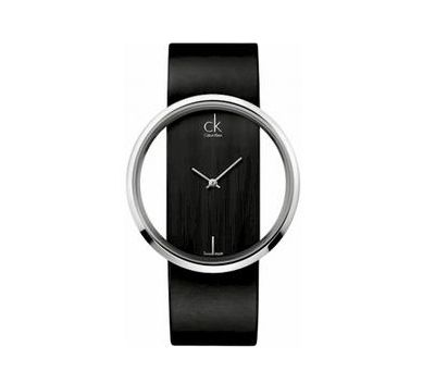 Calvin Klein K9423107 Watch Ladies Glam Transparent Glass Leather http://www.zocko.com/z/JFNMt