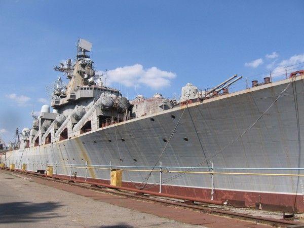 Zapomniany krążownik rakietowy Ukraina