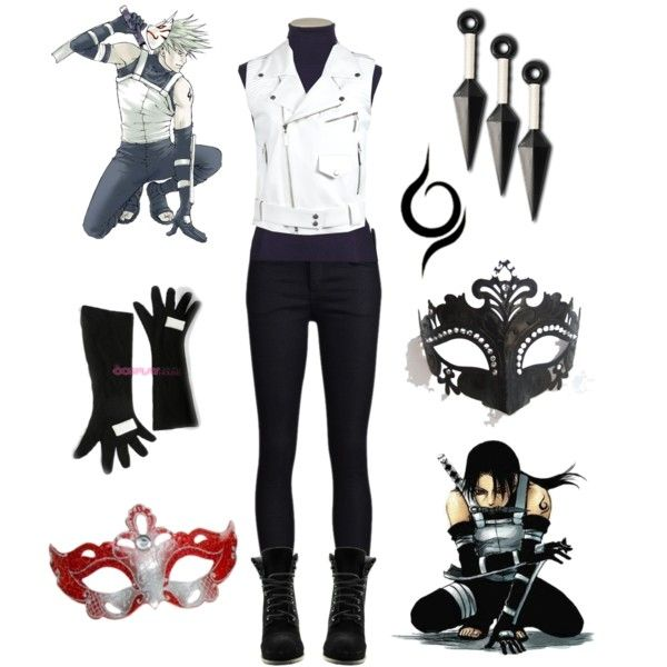 """""""Casual Cosplay - Anbu"""" by casual-cosplay on Polyvore"""