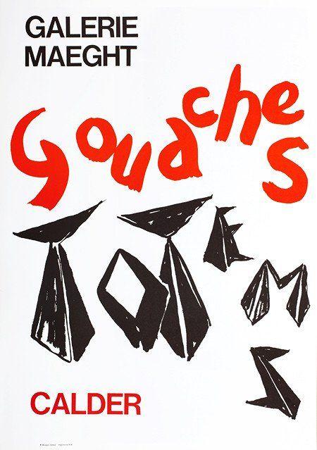 Gouaches et Totem