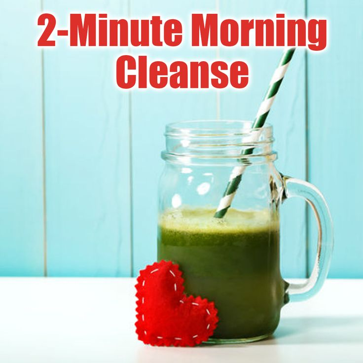 """Recipe: 2-Minute Morning Cleanse. Make green powder delicious. Check out the full recipe on our Facebook page """"Peptide Clinics"""" today."""