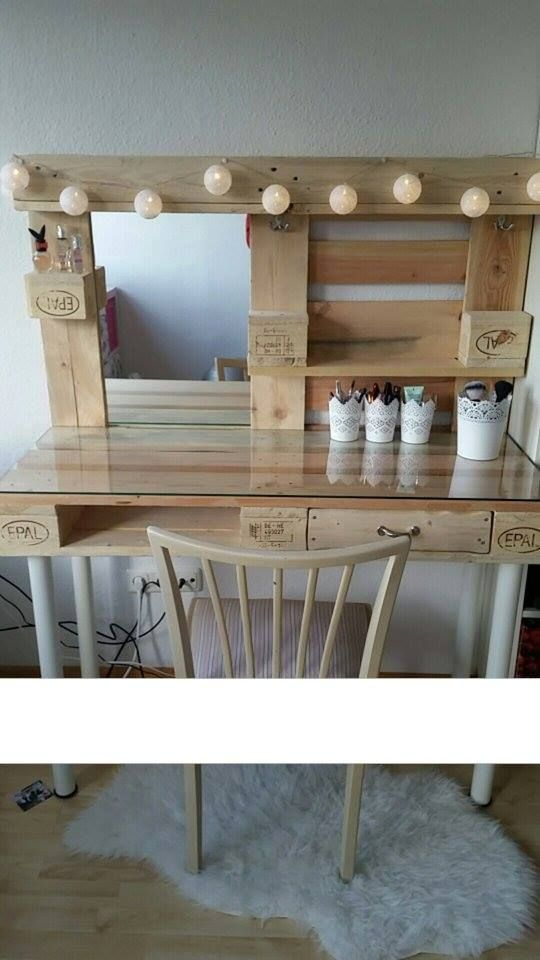 best 25 pallet vanity ideas on pinterest pallet furniture vanity diy pallet vanity and. Black Bedroom Furniture Sets. Home Design Ideas