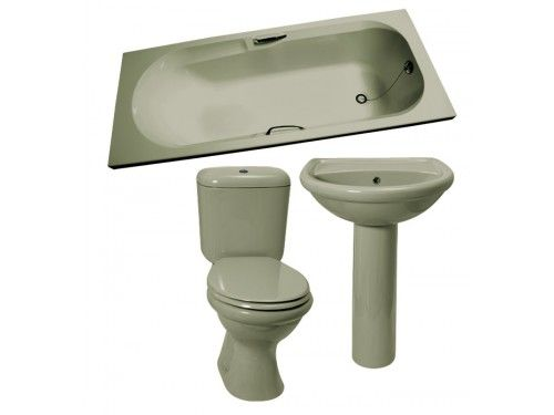 Avo Coral Bathroom Set