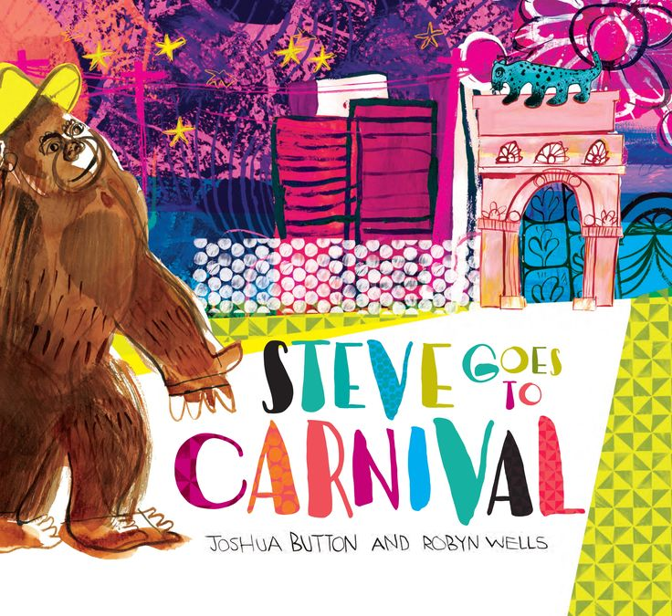 Steve is a gorilla who lives at a zoo in Rio. In the evenings, he listens to jazz on the radio with his friend, Antonio the zookeeper. One night, Steve is feeling a little lonely and so he lifts the latch of his cage door and goes off to search for Antonio. At the tram stop outside the zoo, he finds a hat — the perfect disguise. Steve climbs aboard a tram and rides down the hillside, past the favelas and into the city. It is carnival time in Rio!