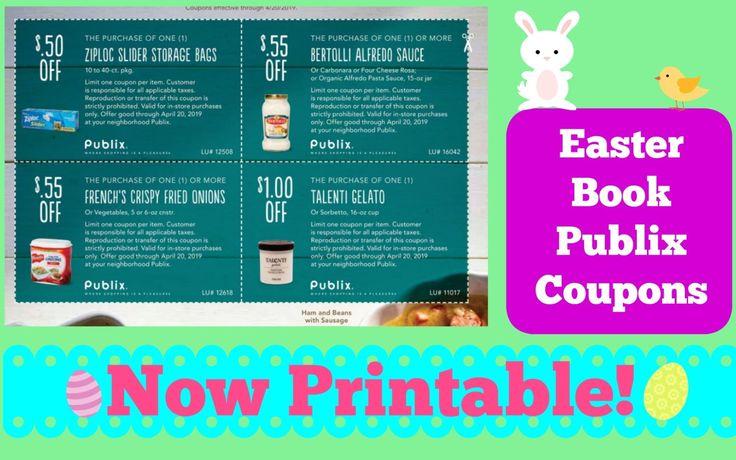 New publix easter coupon book now printable my publix