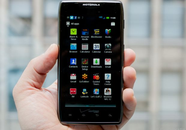 With the Droid Razr Maxx, Verizon Finally has a Phone With Long Battery Life