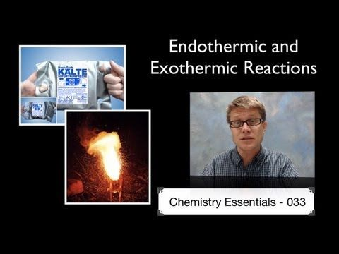 ▶ Endothermic and Exothermic Reactions - YouTube