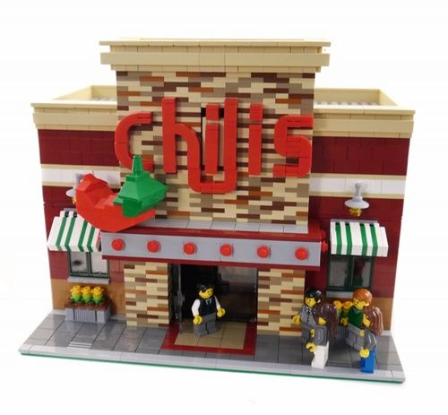 Chili's Restaurant 2.0 - New and Improved: A LEGO® creation by Brian Lyles : MOCpages.com