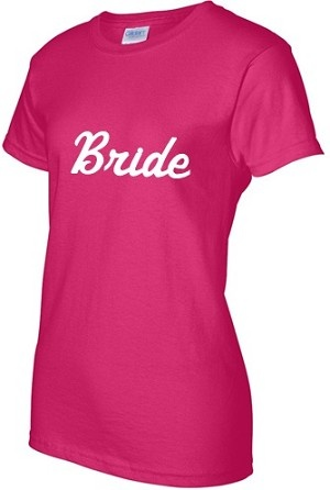 $9.99   SHORT SLEEVE BACHELORETTE OR STAG AND DOE SHIRT