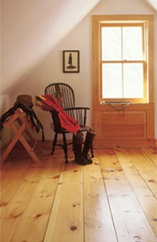 """Flooring Pine Knotty 7"""" Wide Plank 3/4"""" Solid $2.29 sft on eBay!"""