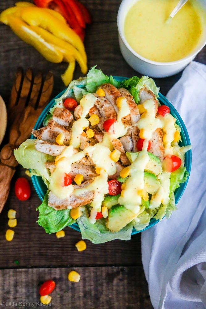 A healthy chicken salad drizzled with cheesy Cathedral City Cheddar sauce! Are you also crazy about cheese? I don't know what do I love more than cheese, it's just one of these ingredients that I don't mind having at any time of the day… Breakfast, lunch, snack, dinner – it doesn't matter because there is...Read More »