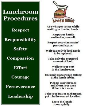 This back to school idea is to teach your students the rules and procedures that will help you maintain classroom control at the beginning of the school year for the lunchroom. $2