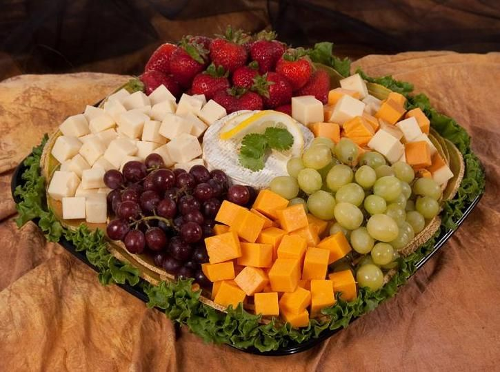 fruit n cheese tray