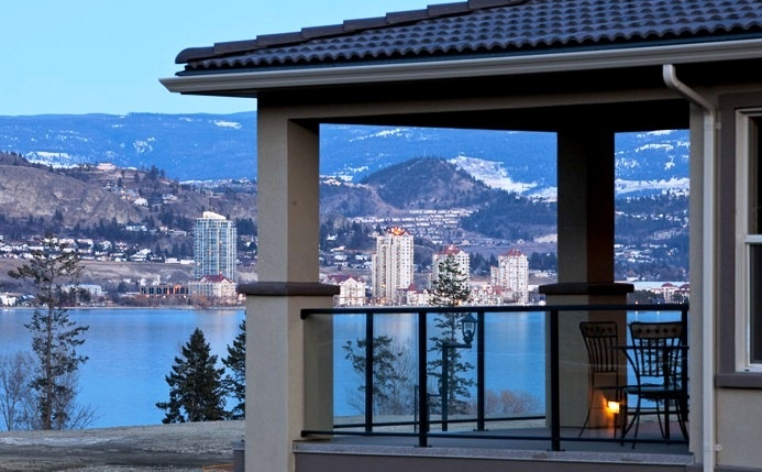 Stunning Okanagan Lake views from this new development in Kelowna BC.