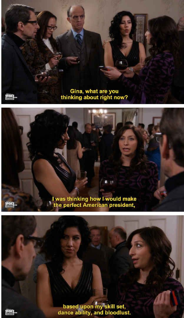 """23 Reasons Gina From """"Brooklyn Nine-Nine"""" Is The Best Character On TV"""