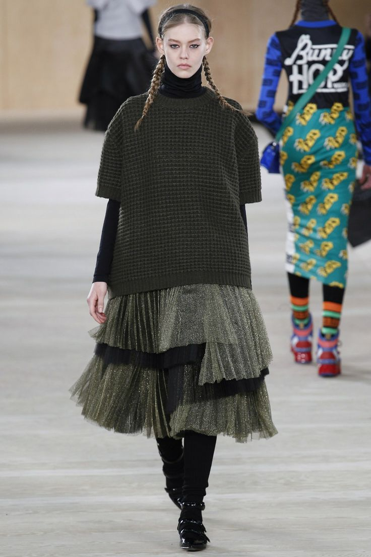 Layers, Netting, Metallics  Marc by Marc Jacobs A/W 14/15 #NYFW