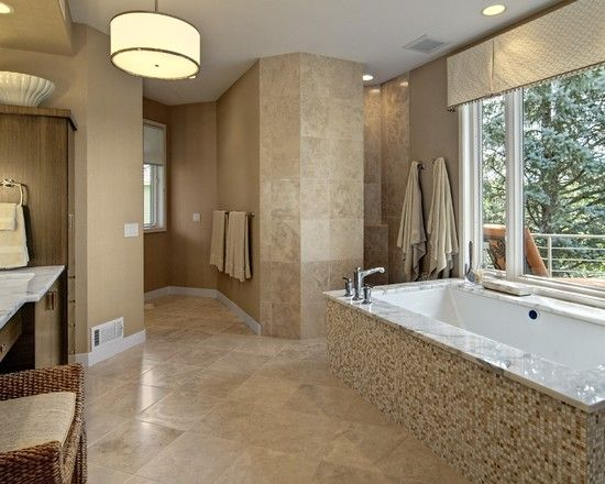 Bathroom Doorless Shower Design Pictures Remodel Decor And Ideas Page 4 Bathrooms