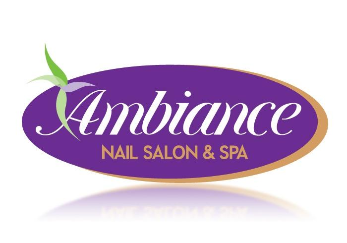Ambiance nail salon logo design logo design cincinnati for Ambiance salon design
