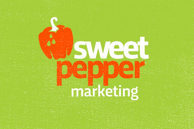 Logo concept for 'Sweet Pepper Marketing'