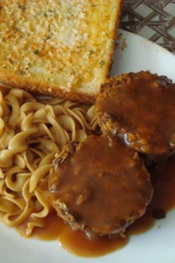 Really Good Vegetarian Meatloaf | This is basically our favorite meatloaf recipe but with cooked mashed lentils instead of ground meat. The result is a very tasty dinner!