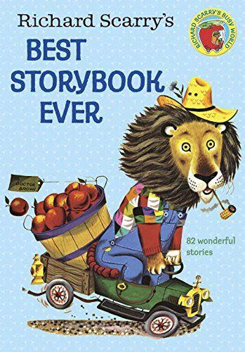Richard Scarry's Best Storybook Ever! (Giant Little Golden Book) by Richard Scarry http://www.amazon.com/dp/0307165485/ref=cm_sw_r_pi_dp_sj35ub0HSXZ8N