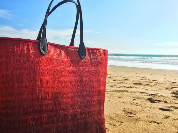 Pilar Shopping Bag. Beach bag. Buntal. Organic. Unique. Glamorous. Handmade. Versatile. Beach essential