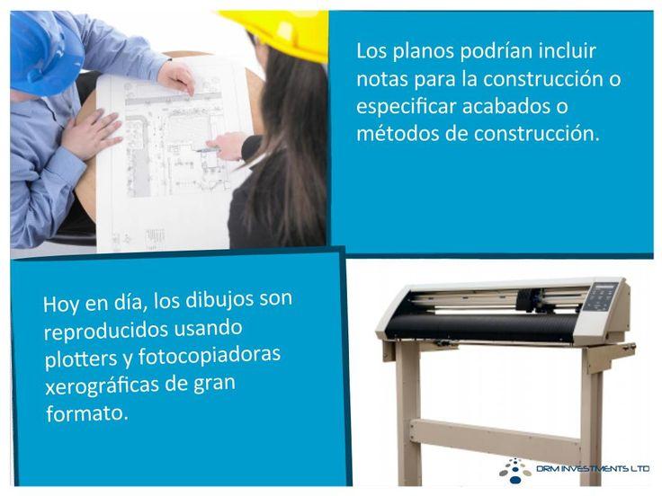 Los planos podrían incluir notas para la construcción o especificar acabados o métodos de construcción.