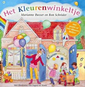 Het Kleurenwinkeltje - Marianne Busser en Ron Schröder - Uitgeverij Moon.