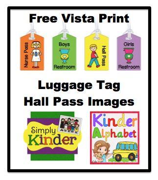 Kinder Alphabet: Hall Passes Giveaway!
