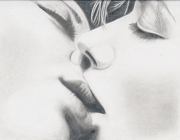 прессе поцелуи рисунок также