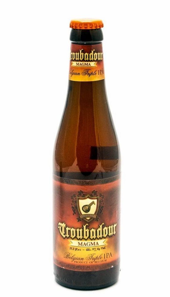Troubadour Magma, Imperial IPA  9,0% ABV (Brouwerij The Musketeers, Bélgica) [Agosto 2017]