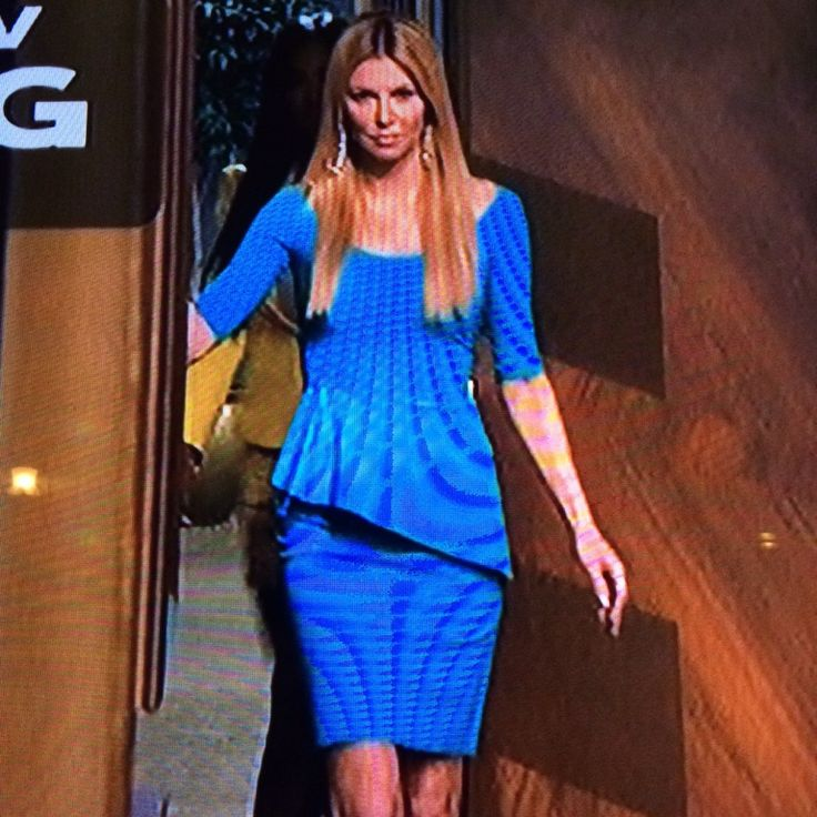 Brandi Glanville's Blue Peplum Dress on Celebrity Apprentice | Big Blonde Hair : Big Blonde Hair http://www.bigblondehair.com/real-housewives/rhobh/brandi-glanvilles-blue-peplum-dress-on-celebrity-apprentice/