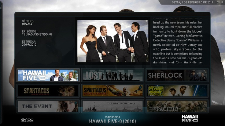 Screenshots of Skins Available for XBMC ~ Apple TV 3 Jailbreak