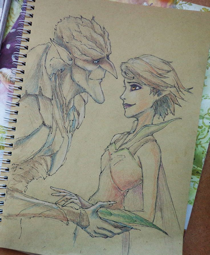 "Fan art ""Strange magic"""