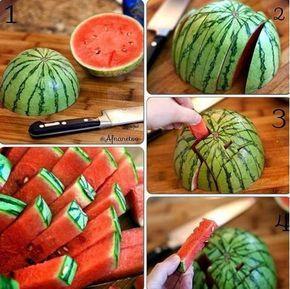 Servir melancia