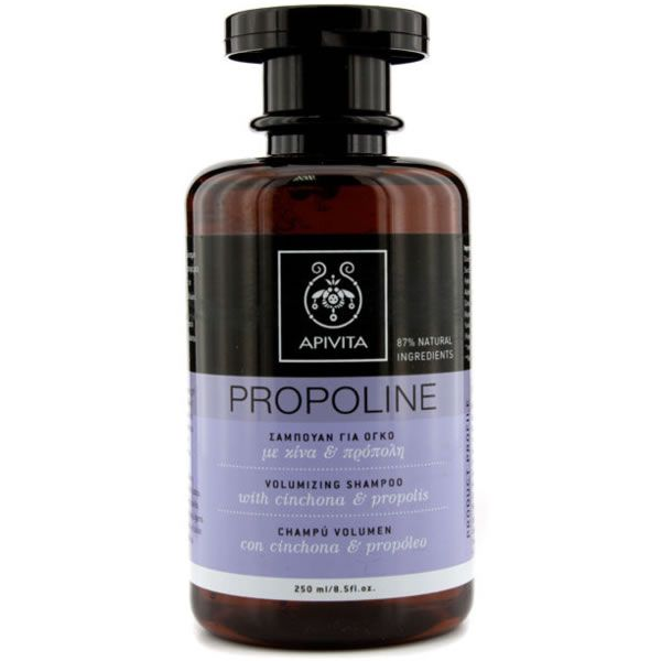 Apivita Volumizing Shampoo With Chinchona And Propolis 250ml Cosmetiques Online