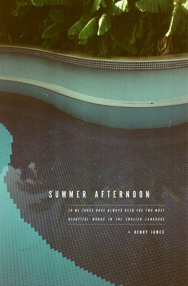 summer afternoon / amy moore