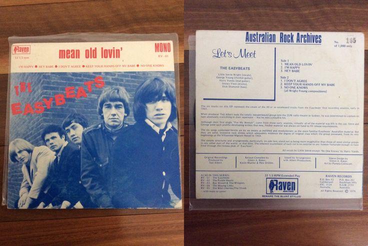 The Easybeats - Mean Old Lovin' (1979) ~ RSD 2017