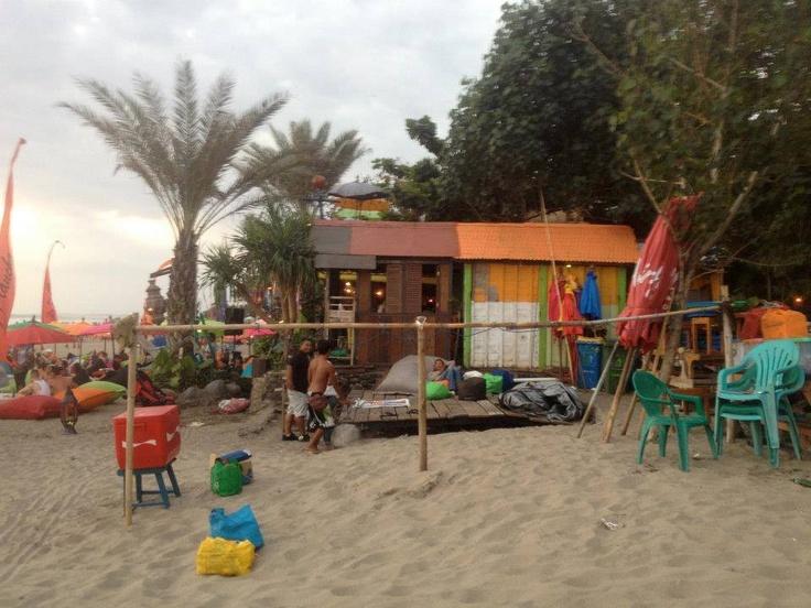 Bali beach shack bar